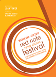 Red Note New Music Festival Program, 2013 by School of Music