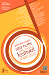 Red Note New Music Festival Poster, 2013 by School of Music and Carl Schimmel
