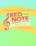 Red Note New Music Festival Program, 2020