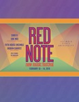 Red Note New Music Festival Program, 2019 by Carl Schimmel and Roy Magnuson