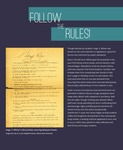 Slide deck 03: Follow the Rules (1 panel) by Angela L. Bonnell