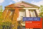 Slide deck 09: Williams Hall (4 panels) by Angela L. Bonnell
