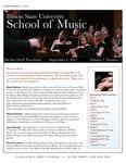 School of Music Faculty Newsletter, September 2011