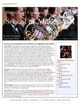 School of Music Faculty Newsletter, September 2012