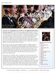 School of Music Faculty Newsletter, December 2012