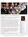 School of Music Faculty Newsletter, March 2013