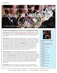 School of Music Faculty Newsletter, October 2015 by School of Music