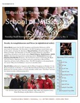 School of Music Faculty Newsletter, November 2015 by School of Music