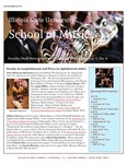 School of Music Faculty Newsletter, December 2015 by School of Music