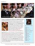 School of Music Faculty Newsletter, December 2015