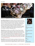School of Music Faculty Newsletter, May 2016