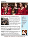 School of Music Faculty Newsletter, October 2017 by School of Music