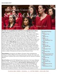 School of Music Faculty Newsletter, December 2017