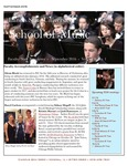 School of Music Faculty Newsletter, September 2016 by School of Music