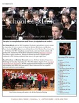School of Music Faculty Newsletter, October 2016