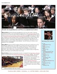 School of Music Faculty Newsletter, November 2016 by School of Music
