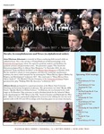 School of Music Faculty Newsletter, March 2017 by School of Music