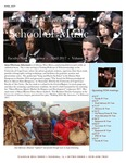 School of Music Faculty Newsletter, April 2017 by School of Music