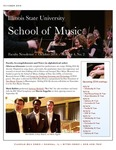 School of Music Faculty Newsletter, October 2014