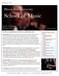School of Music Faculty Newsletter, February 2015