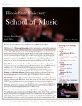School of Music Faculty Newsletter, April 2014