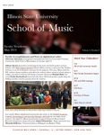 School of Music Faculty Newsletter, May 2014