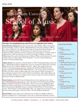 School of Music Faculty Newsletter, April 2018 by School of Music