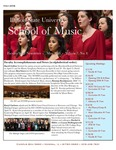 School of Music Faculty Newsletter, May 2018 by School of Music