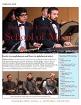 School of Music Faculty Newsletter, February 2019 by School of Music,