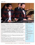 School of Music Faculty Newsletter, April 2019 by School of Music