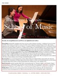 School of Music Faculty Newsletter, May 2020