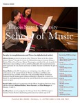 School of Music Faculty Newsletter, March 2020