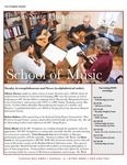 School of Music Faculty Newsletter, October 2020