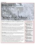 School of Music Faculty Newsletter, February 2021