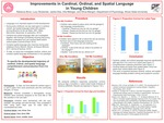 Improvements In Cardinal, Ordinal, And Spatial Language In Young Children by Rebecca Bove, Lucy Okrasinski, Jacqueline Diaz, Ella Metzger, and Olivia Mangini