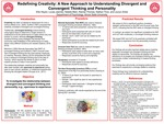 Redefining Creativity: A New Approach To Understanding Divergent And Convergent Thinking And Personality by Lauryn Zinke, Ellis Heyen, Lucas Jasinski, Natalie Main, Rachel Thomas, and Nathan Trice