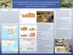 Evaluating MIKE & PIKE: The Relationship Trend Between Elephant Carcasses & The Illegal Trade in Endangered Elephants