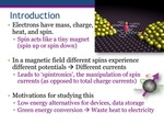 Quantum Interference Enhancement of the Spin-Thermopower by Nathan Bennett