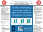 Elementary General and Special Educators' Efficacy Teaching Students with Disabilities by Morgan Johnson