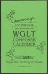 WGLT Program Guide, September, 1984
