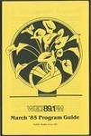 WGLT Program Guide, March, 1985
