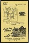 WGLT Program Guide, April, 1986