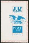 WGLT Program Guide, July, 1989