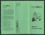 WGLT Program Guide, March, 1981