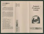 WGLT Program Guide, August, 1981