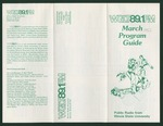 WGLT Program Guide, March, 1982