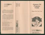 WGLT Program Guide, January, 1983