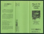 WGLT Program Guide, March, 1983