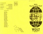 WGLT Program Guide, April-June, 1977